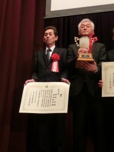 村田一浩さん(左)