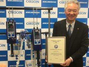 MMD500のICAR認証を持つ太田哲郎社長