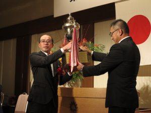 黒澤賞を受賞した原田敦さん